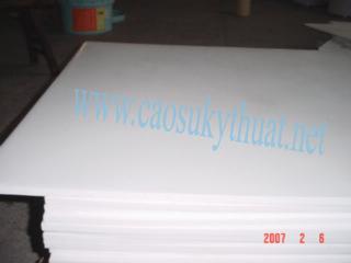 Nhựa Teflon ( PTFE) Dạng Tấm