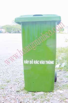 Thùng rác 120 lít