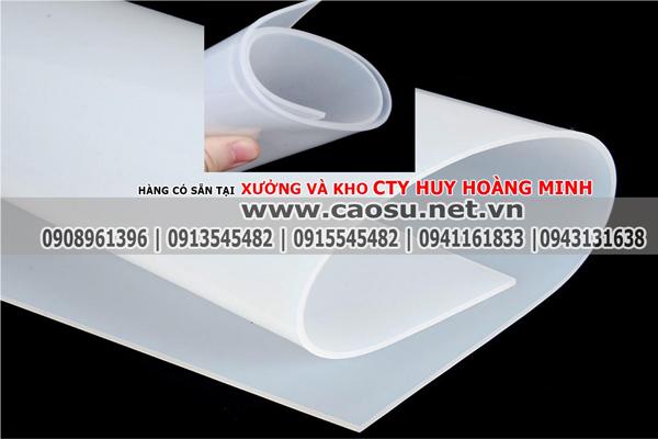 Cao su silicone trắng | Cao su silicone chịu nhiệt | Silicone trắng | Gioăng silicone|Huy Hoàng Minh